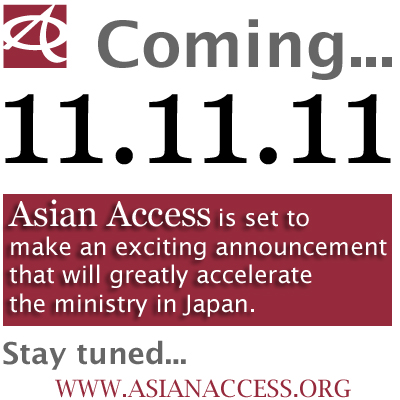 Big announcement on 11.11.11